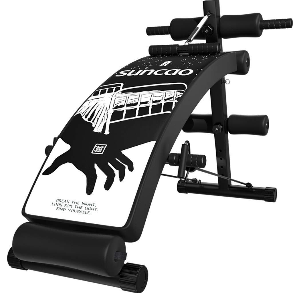 Lxn Einstellbare Gewicht Bänke Sit up Bank Bauch Übung Crunch Board Schwarz Home Gym Verwendung Faltbare Fitnessgeräte Sit-ups Bank