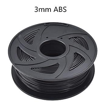 HATCHBOX ABS 3.00 mm 3D Printer Filament in Gold 1kg Spool