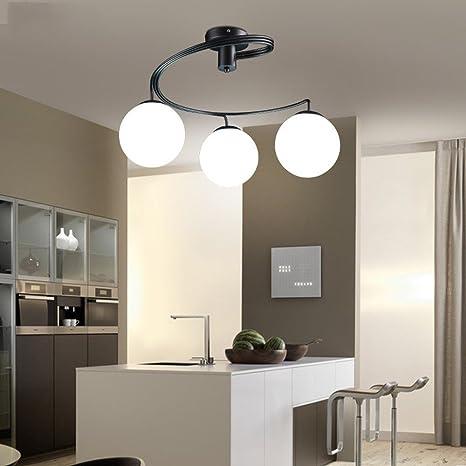 Joeyhome - Moderna lámpara de techo LED para iluminación ...