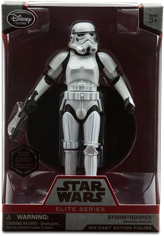 Star Wars Elite Series Imperial Stormtrooper Die Cast Figure NIB