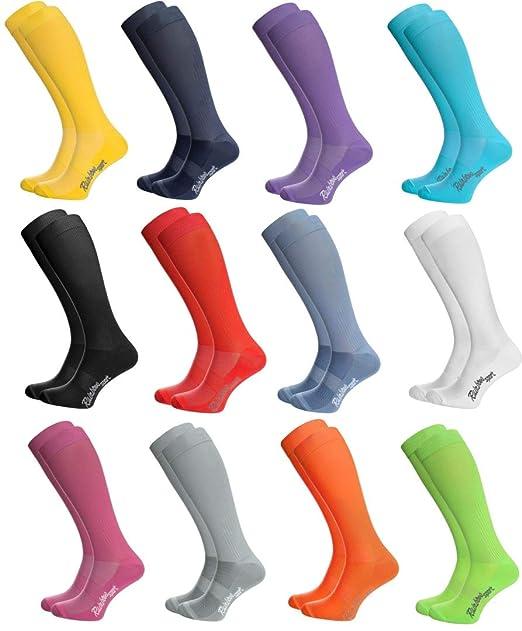 Rainbow Socks - Hombre Mujer Calcetines Largos de Deporte: Amazon.es: Ropa y accesorios