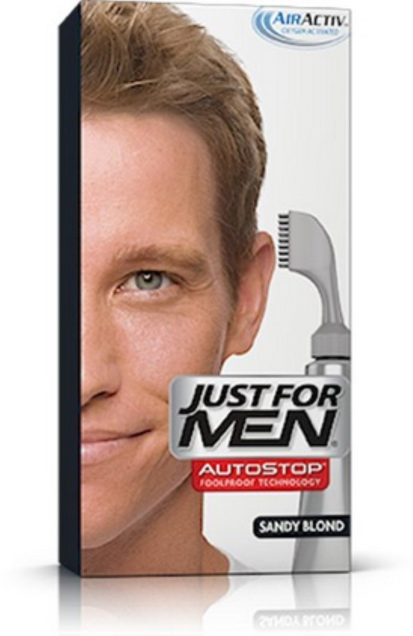 JUST FOR MEN AutoStop Foolproof Hair Color, Sandy Blond A-10 1 ea (Pack of 2) by Just for Men (Image #1)