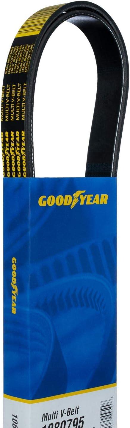 Goodyear 1080600 Serpentine Belt 60 Length 8-Rib