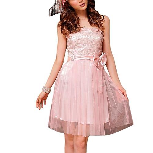 VIP Dress Satin Cocktailkleid   Standesamtkleid   Festkleid kurz mit  Blumenmuster in Weiß, Beige und ba76a90402
