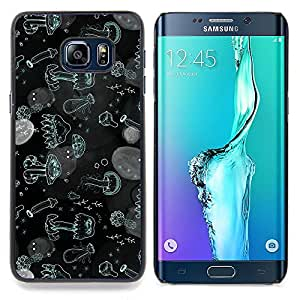 Eason Shop / Premium SLIM PC / Aliminium Casa Carcasa Funda Case Bandera Cover - Las medusas del Mar Océano Wallpaper Plancton - For Samsung Galaxy S6 Edge Plus / S6 Edge+ G928