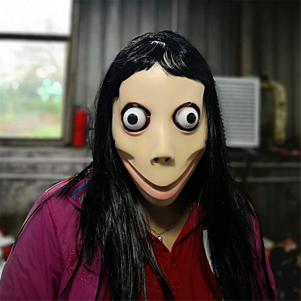 TTXLY Momo Hacking Challenge Juego de Ballenas Máscara ...