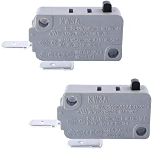 KW3A Microwave Door Switch by Podoy Micro Switchs DR52 16A 125/250V Normally Open (Pack of 2)