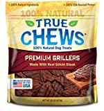 True Chews Premium Grillers Made with Real Sirloin Steak, 22 oz For Sale