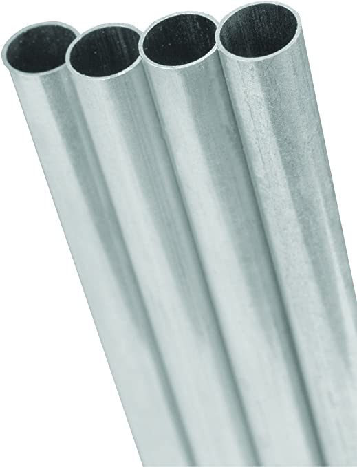 Amazon Com K S Metal Round Tube 5 32 D X 36 L Aluminum Home