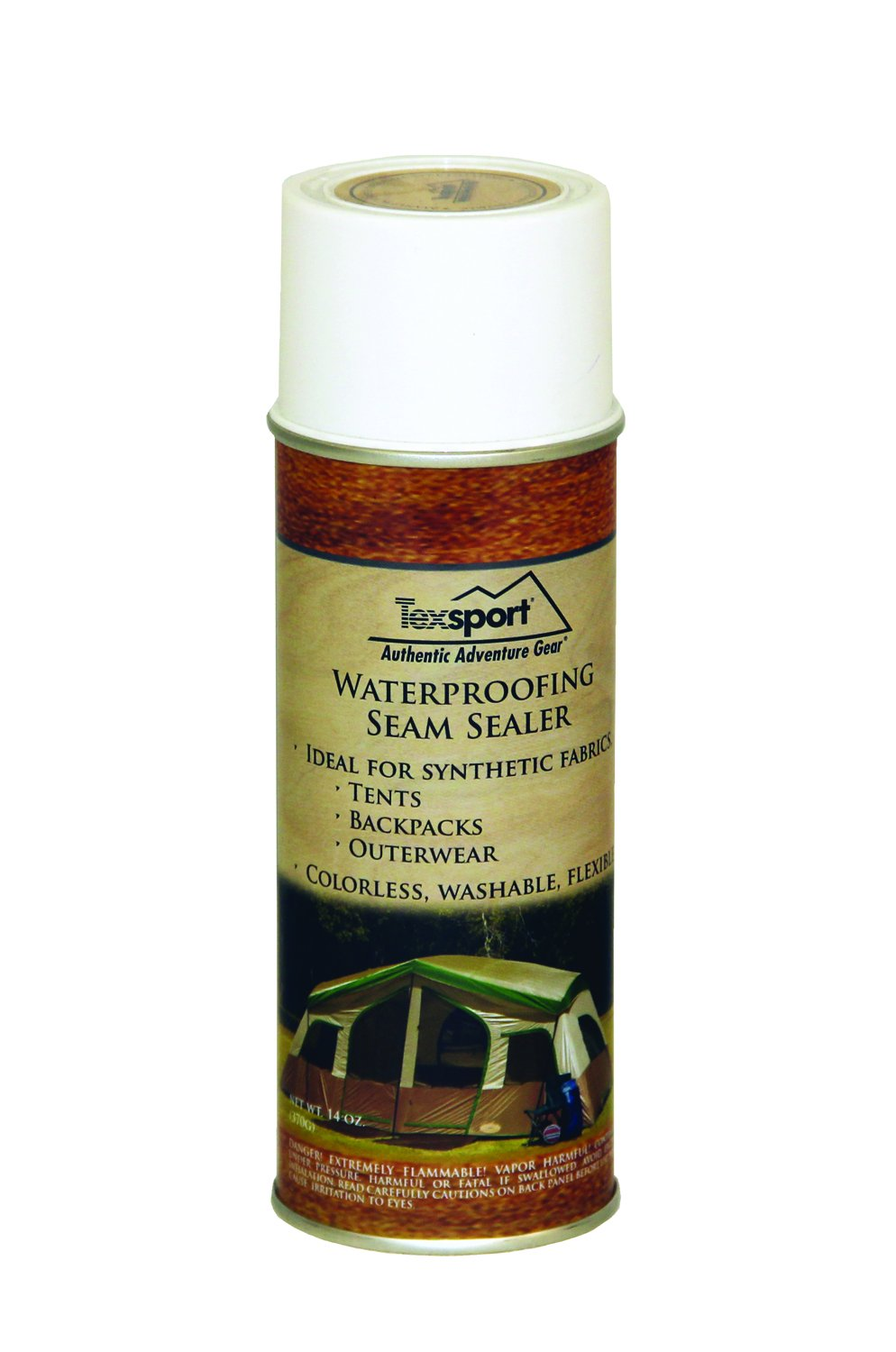 Texsport Polyurethane Waterproof Seam Sealer for Tents Backpacks and Outerwear Repair