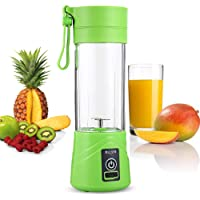 Buyerzone Portable and Rechargeable Battery Juicer Blender380ml Bottle with USB Cable.