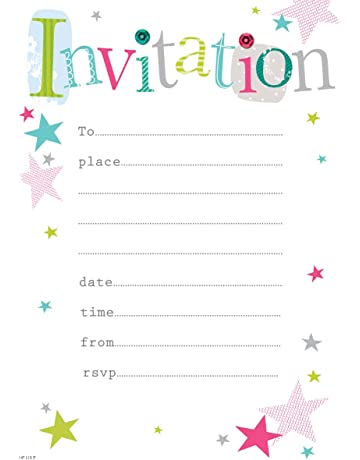 Party Invitations Amazoncouk