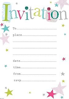Birthday Girl Invitation Pad 20 Sheets Amazoncouk Toys Games