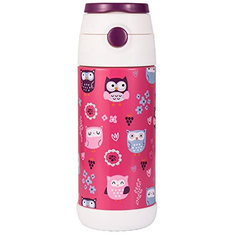 Amazon.com: Snug Petaca para niños – Botella de agua aislada ...