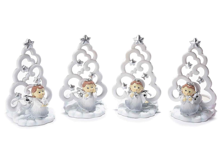 Gruppo Maruccia Porta Candela a foma di Albero di Natale Import