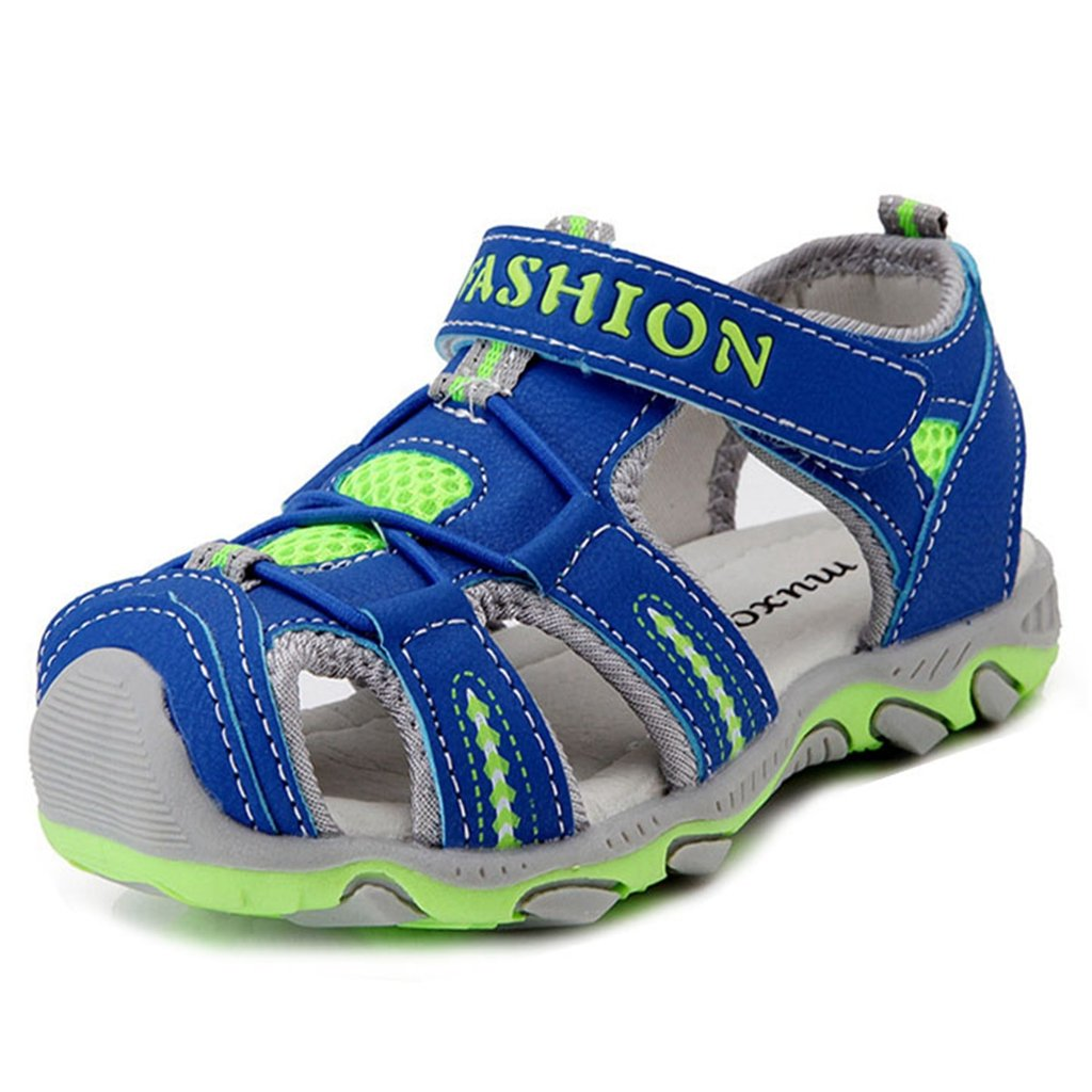 Boys Girls Outdoor Water Sports Sandal with Easy Hook and Loop Closure for Kids Athletic Sport Shoes