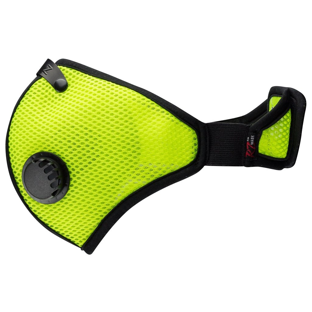 RZ Mask M2 MESH SAFETY GREEN XL by RZ Mask (Image #2)