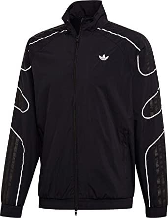Adidas Flamestrike Woven Track Top Jacket Black: