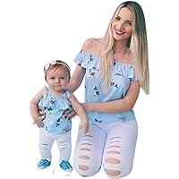 Traje a Juego Familiar Madres Niña Camisa
