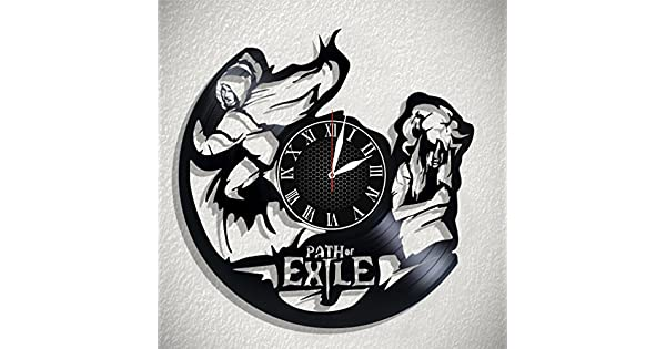 Amazon.com: Olha Art Design Path of Exile Reloj de pared de ...