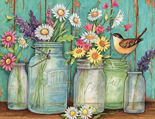 Lang Flower Jars Boxed Note Cards by Susan Winget, 4