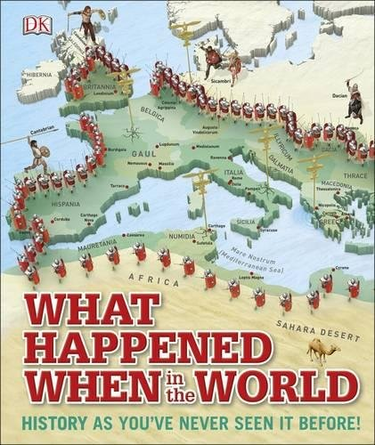 What Happened When in the World: History as You've Never Seen it Before! pdf