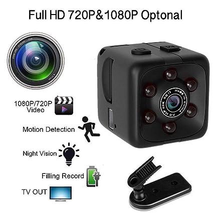 1080P HD Mini cámara inalámbrica Soporte TF 32G Cámara espía módulo Oculto DIY Detección de Movimiento