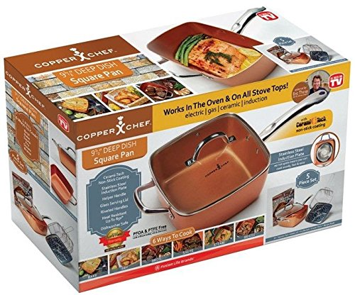 Copper Chef 4 Pc System 6 In 1 Pan Chinese Cooking