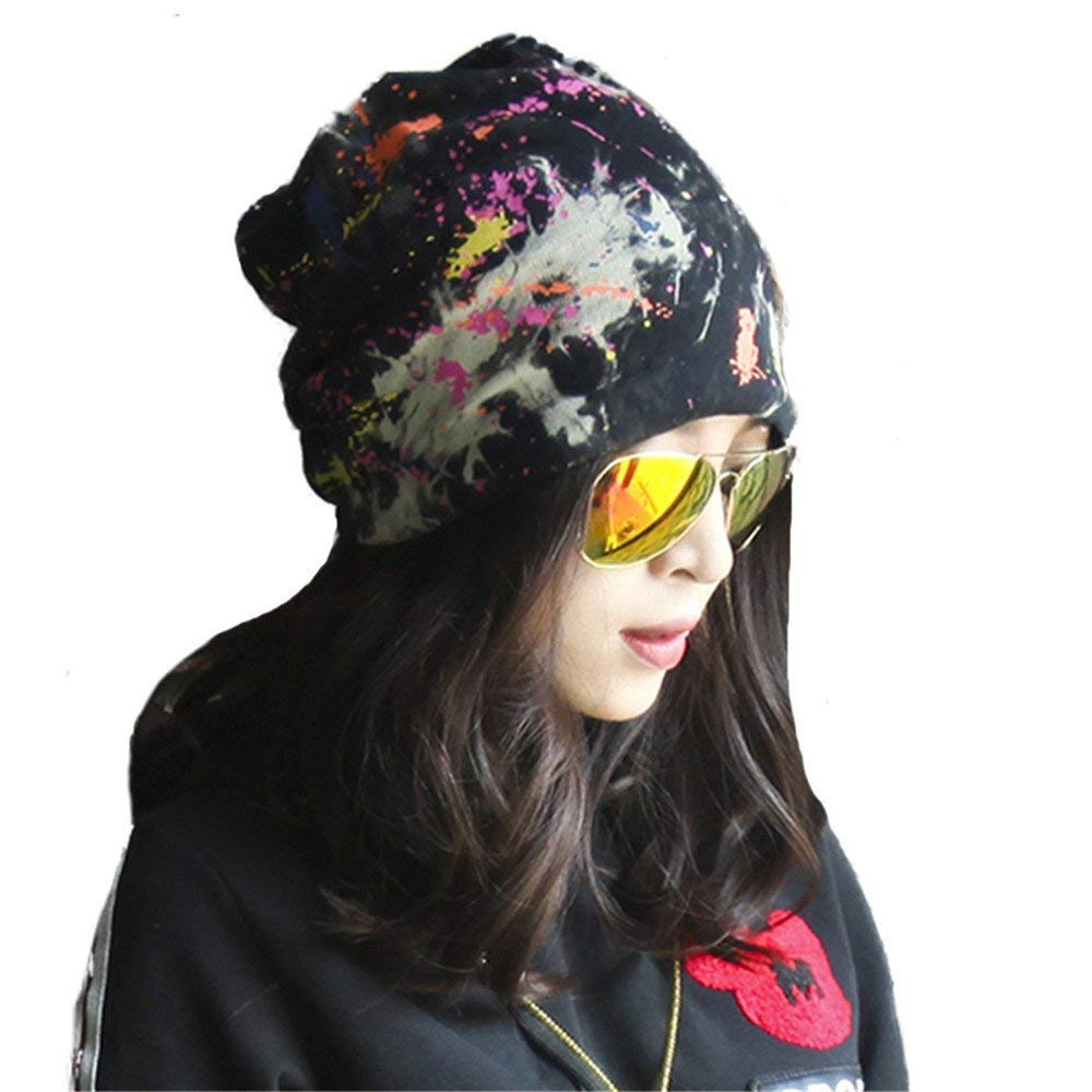 Thundertechs The Girlfriend Boyfriend Ladies hat, Winter and Summer Hip hat, New Personality hat Cap, Baotou hat Scarf Cap (Color : A, Size : M) by Thundertechs (Image #1)