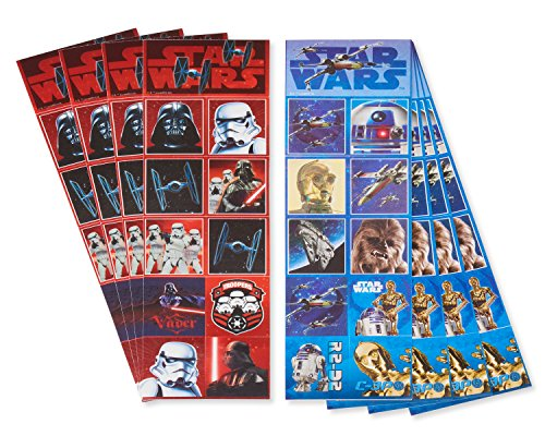 American Greetings Star Wars: The Last Jedi Sticker Sheets