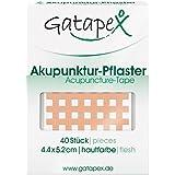 Gatapex Pansements d'acupuncture forme grillagée Couleur chair 40 pièces