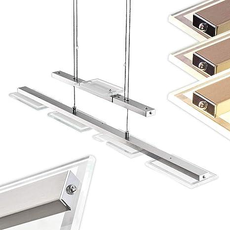 LED Hängeleuchte höhenverstellbar /& Lichtfarbe dimmbar Länge 64 cm Esstischlampe