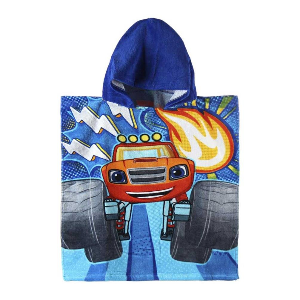 Blaze Poncho Towel and the Monster Machines Thunder Algodon 2278 S0700378