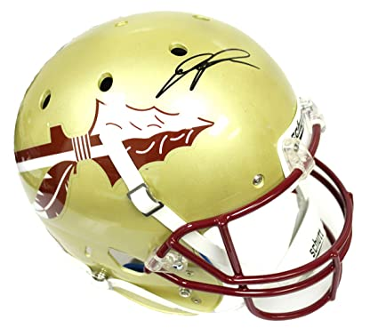9b3faac23bd Amazon.com: Devonta Freeman Autographed Signed Florida State Seminoles  Schutt Replica Full Size Helmet - JSA Certified Authentic: Sports  Collectibles