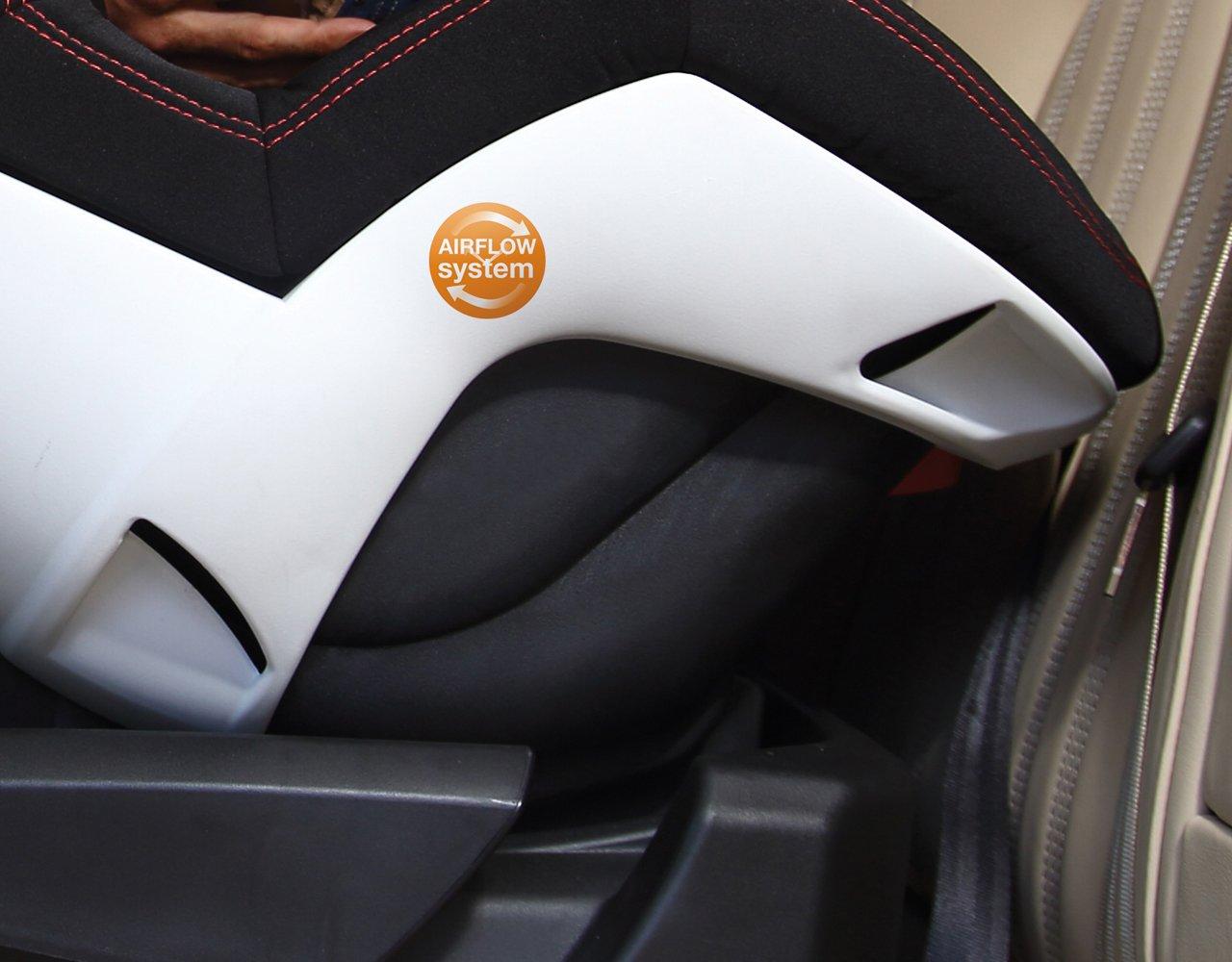 Casualplay Bicare Fix - Silla de coche, grupo 0/1, color negro