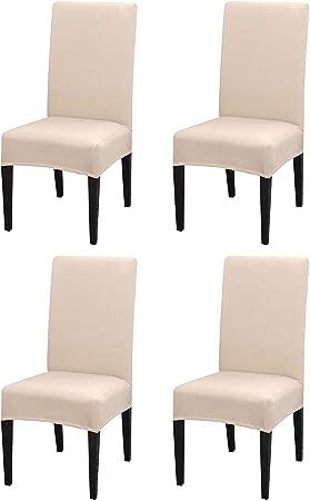 amazon fundas de sillas de comedor respaldo bajo