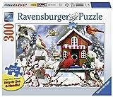 Ravensburger 13591 The Lodge Jigsaw Format Puzzle (300 Piece), Large, Multicolor