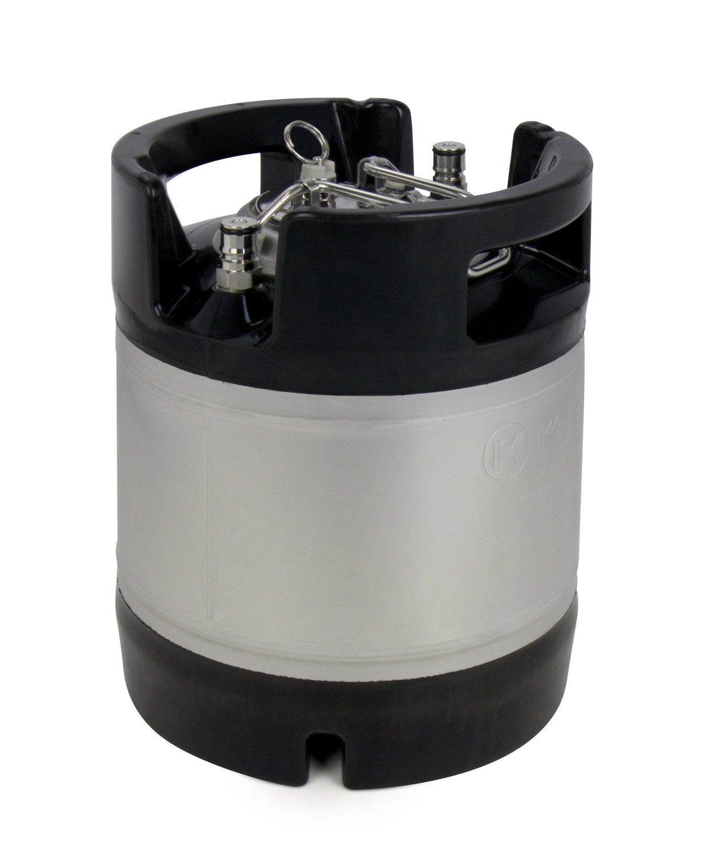 Rubber Handle Kegco 2X-KM175G-RBT 1.75 gal Ball Lock Keg
