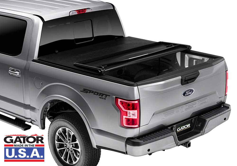 w//Factory Side Bed Rail caps only 59502 fits Nissan Frontier 2005-19 Gator ETX Soft Tri-Fold Truck Bed Tonneau Cover 6 ft Bed