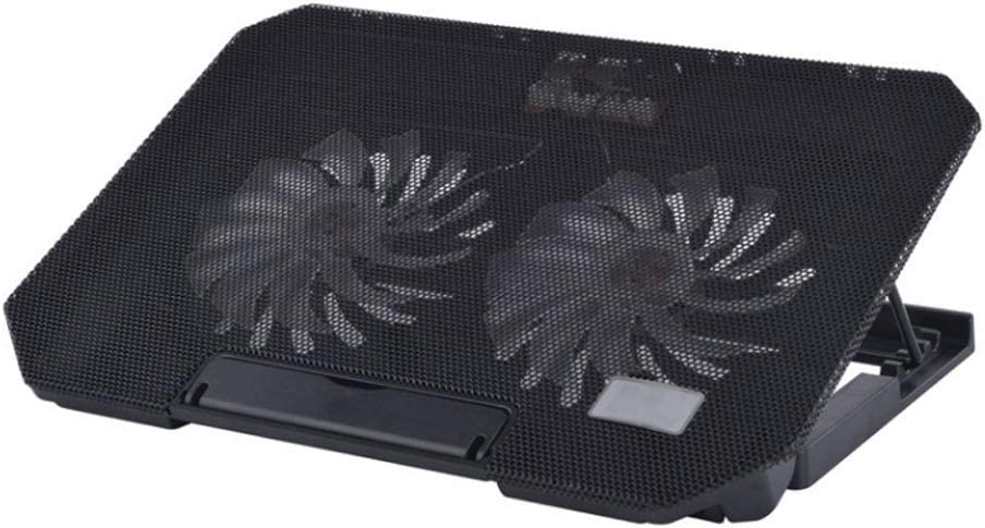 Color : Black Notebook Cooler Computer Bracket Cooling Pad Fan Peripherals Increased Bracket Computer Radiator Bracket