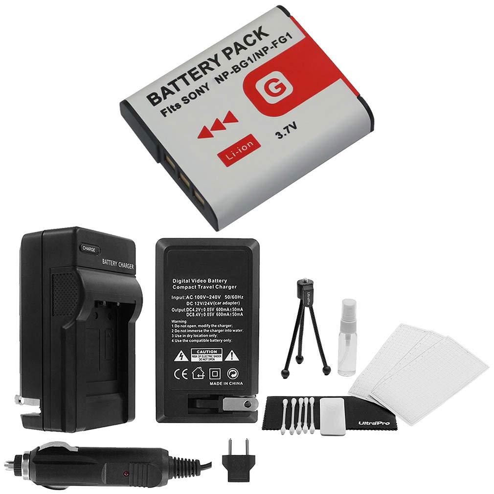 NP-FG1 - Batería de recambio de alta capacidad con cargador de ...