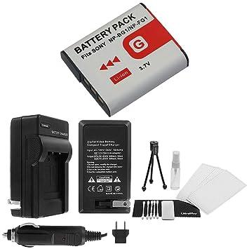 Amazon.com: NP-FG1 Batería de repuesto de alta capacidad con ...