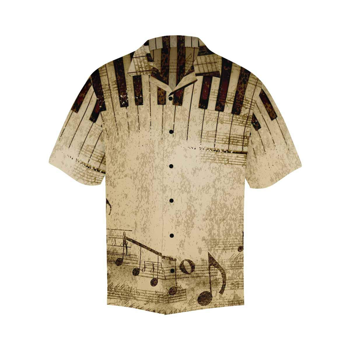 Comfortable and Breathable InterestPrint Retro Audio Equipment Short-Sleeve Shirt