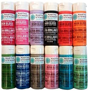 Martha stewart crafts multi surface high gloss for Martha stewart crafts spray paint kit