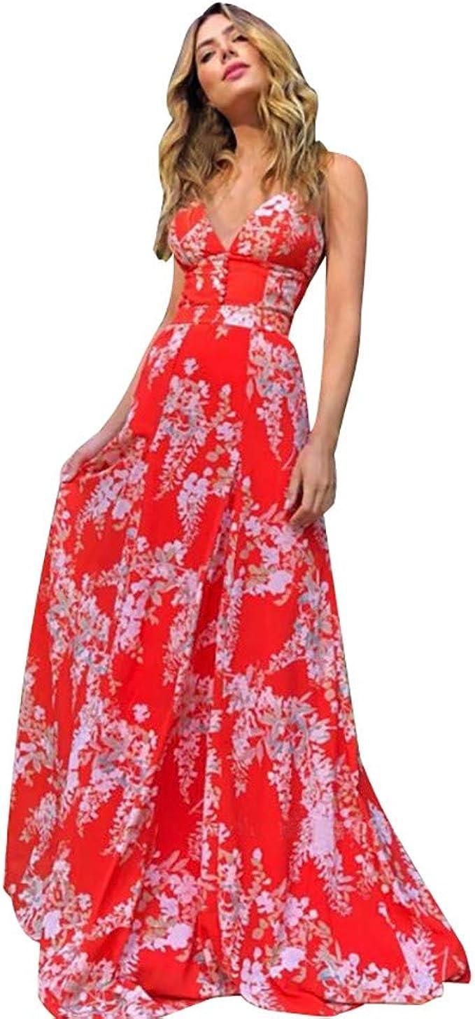 Coedfa Dress for Women Plus Size Party Fashion Backless Maxi Dress Wedding Party Cocktail Ladies Dress