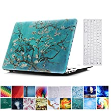 Macbook Retina 12 inch Case and Keyboard Protector,YiLin Hard Case With Keyboard Cover Skin For Macbook 12 inch with Retina Display (Model: A1534),Apricot Tree