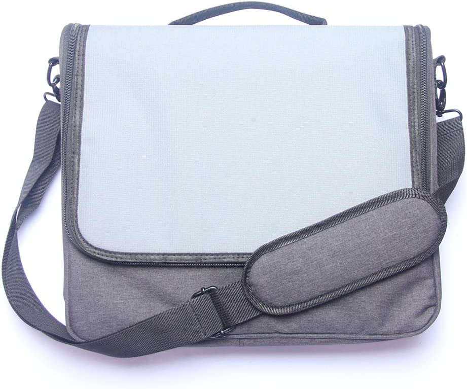 Soyan Messenger Bag for Nintendo Switch and Accessories (Gray)