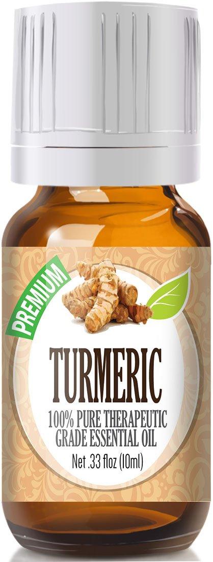 Turmeric 100% Pure, Best Therapeutic Grade Essential Oil - 10ml