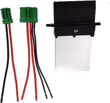 CT-CARID Calentador Motor Resistencia del Soplador + Conector ...