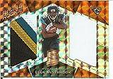 Football NFL 2017 Spectra Rising Rookie Materials Neon Orange #26 Dede Westbrook MEM 2/5 Jag